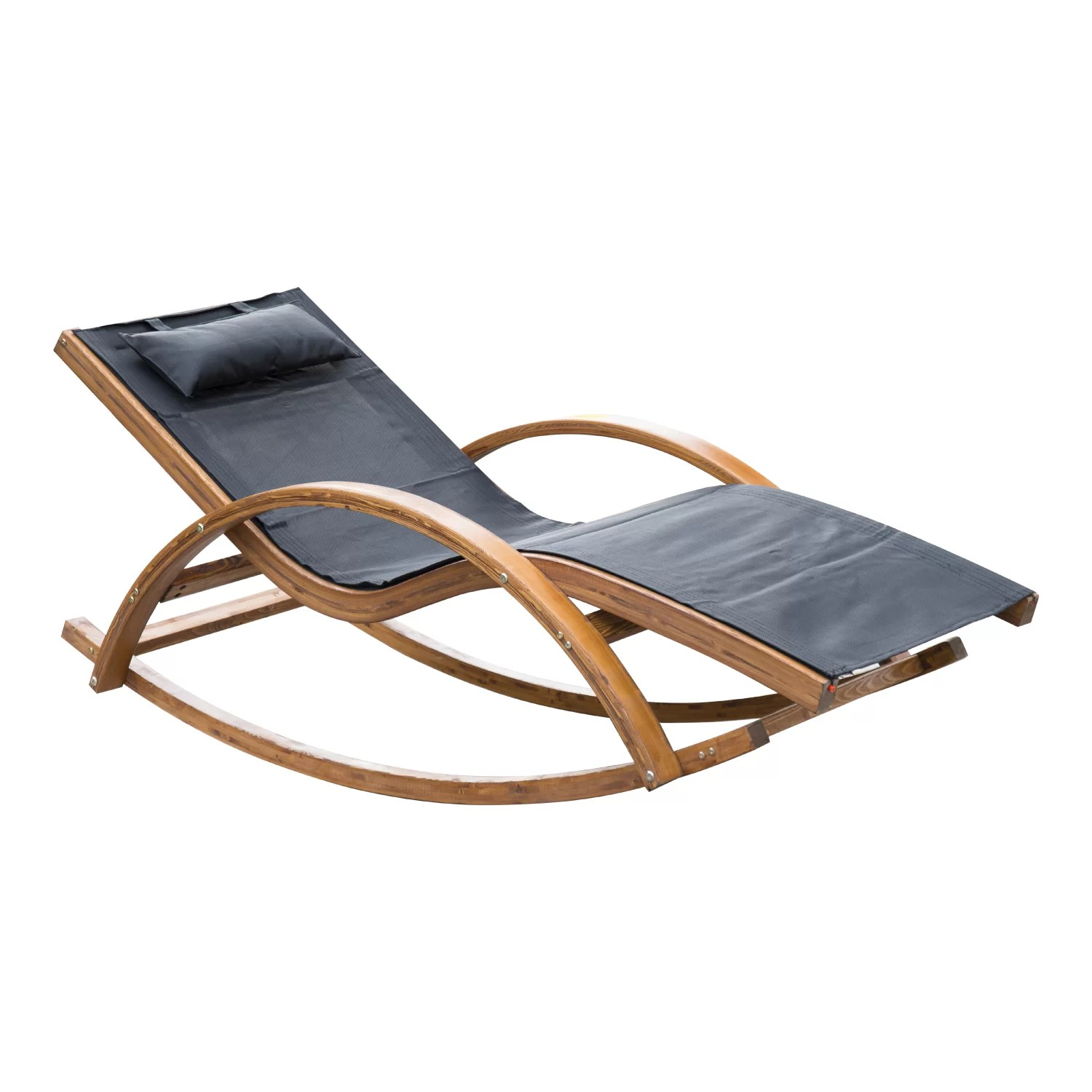 Teak Chaise Lounge Chairs Hunsaker Reclining Teak Chaise Lounge
