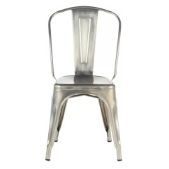 Industrial Metal Chairs Ashley Furniture Accent Josephallenhome Side Chair Stackable Reviews Wayfair