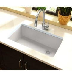 Buy Undermount Kitchen Sink Aid Pro 600 Elkay Quartz Classic 33 L X 19 W Reviews Elgu13322wh0