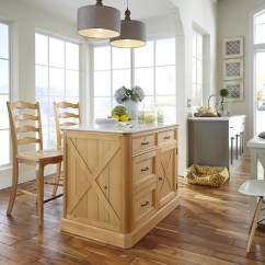 Kitchen Island Set Milos Home Styles Country Lodge Reviews Wayfair