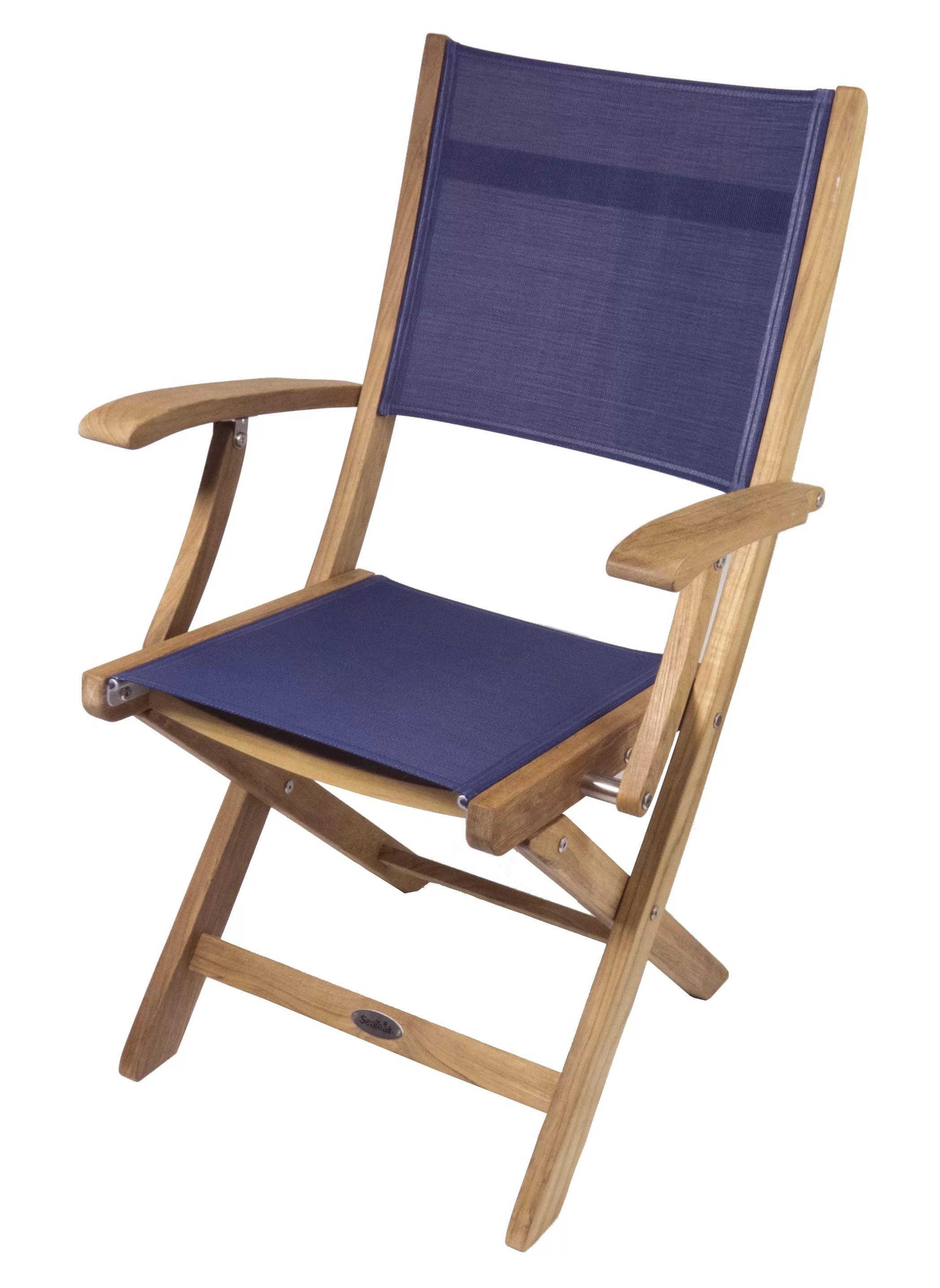 boat chairs folding deck harmony high chair seateak bimini wayfair