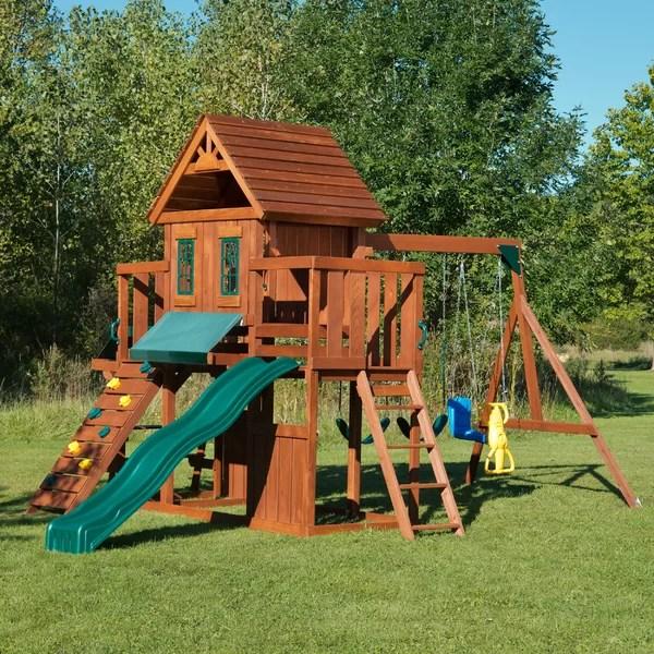backyard play equipment you