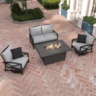 martha stewart lakeside 4 piece sofa seating group with cushions