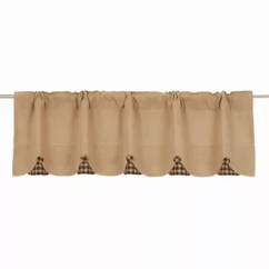 Kitchen Swag Curtains Outdoor With Fireplace Blue Green Valances You Ll Love Wayfair Quickview