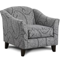 Black And White Paisley Accent Chair Chairs With Arms Home Goods You Ll Love Wayfair Cargin Armchair