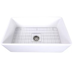 Kitchen Sink Grids Moen Faucets Cape 30 L X 18 W Farmhouse With Grid Reviews