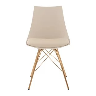 beige dining chairs papasan chair metal modern allmodern quickview