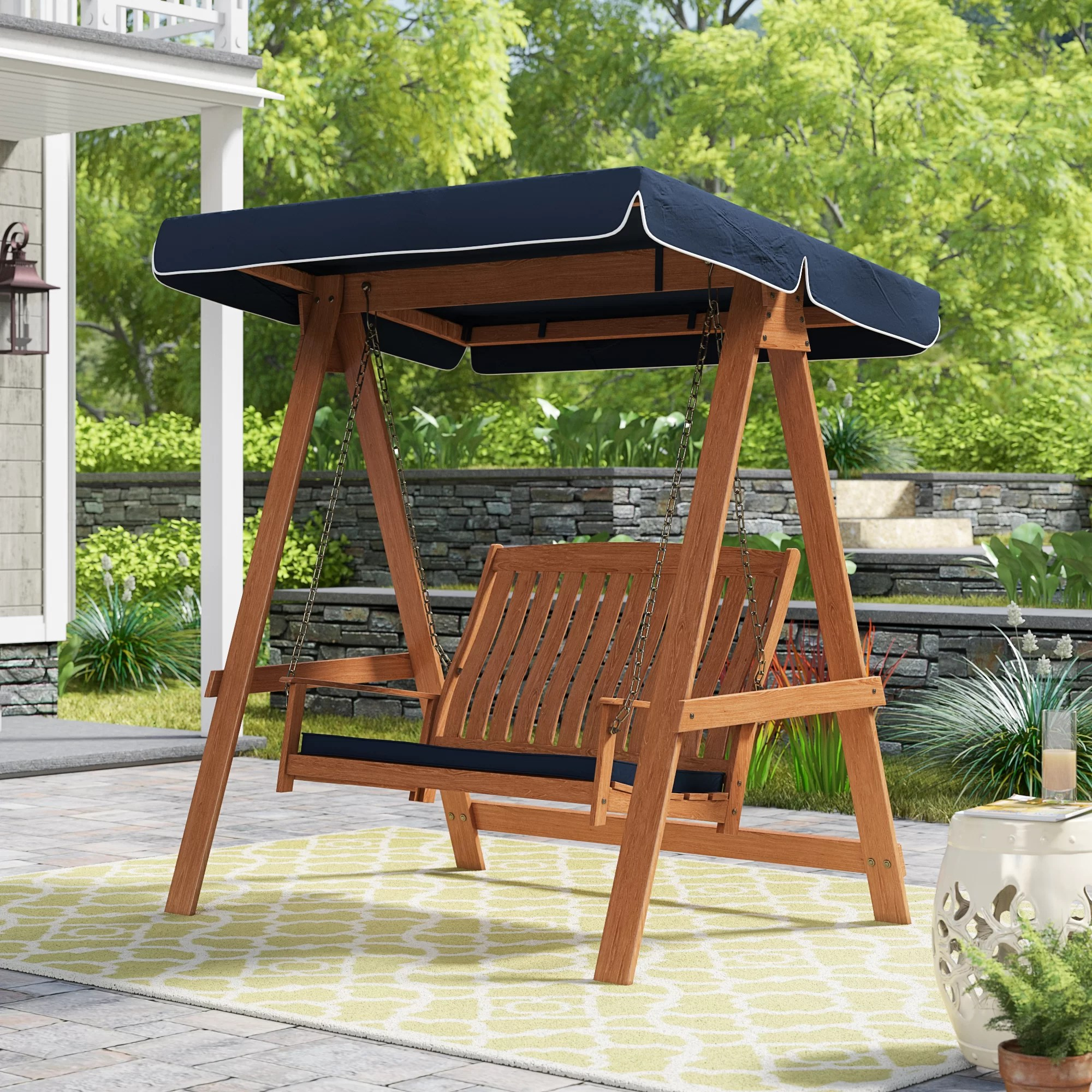 peggy porch swing with stand