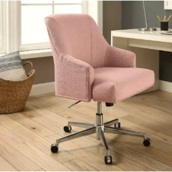 Desk Chair Pink Swinging Hammock Swivel Chairs You Ll Love Wayfair Quickview