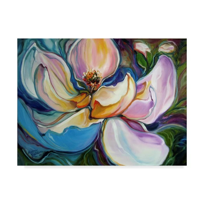 sweet magnolia modern floral