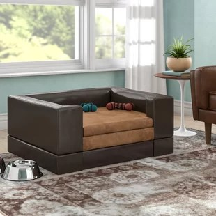 large living room sofas curtains for my oversized couches wayfair deon rectangle cushy pet sofa