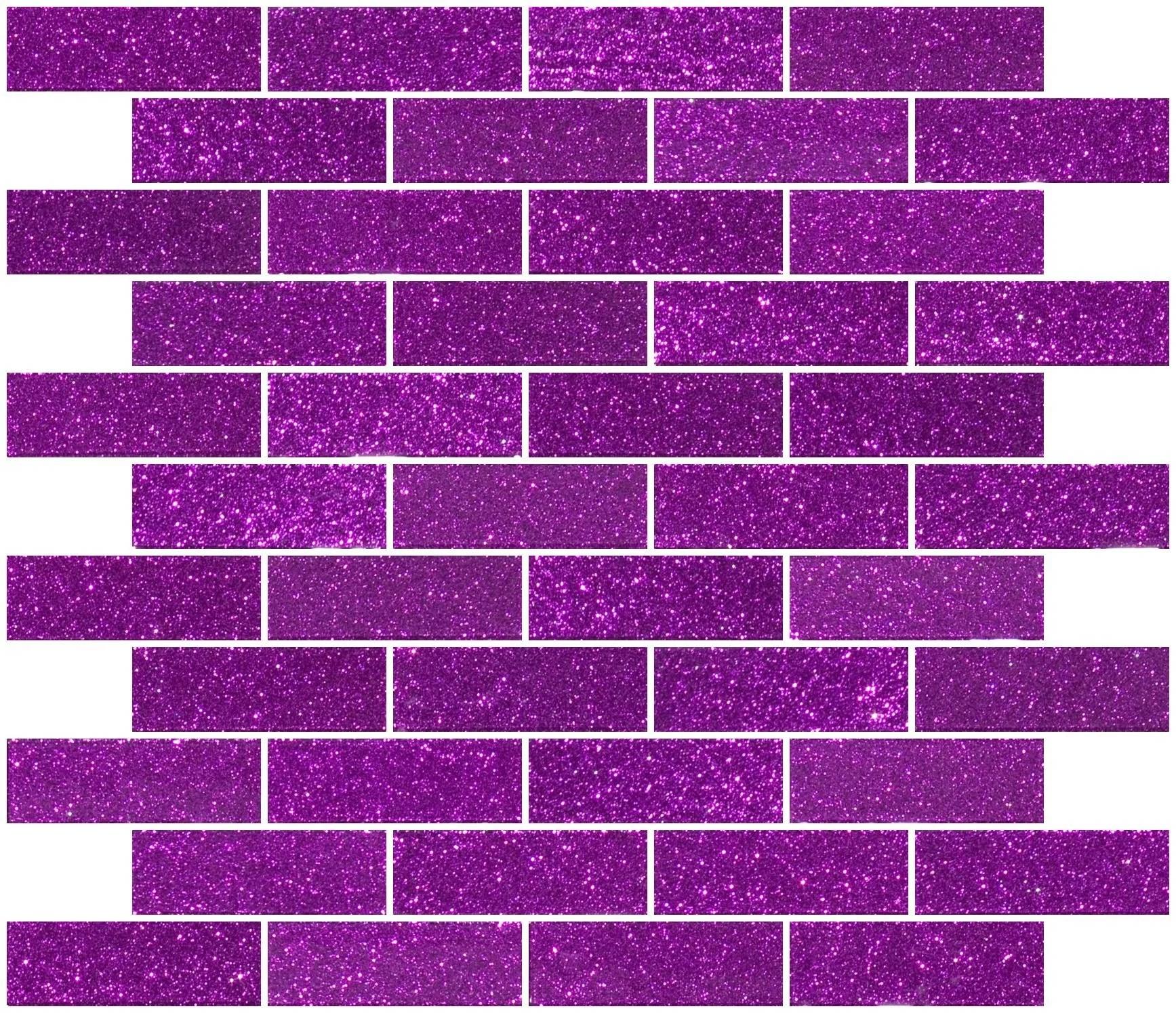 kilner 1 x 3 glass subway tile in purple violet