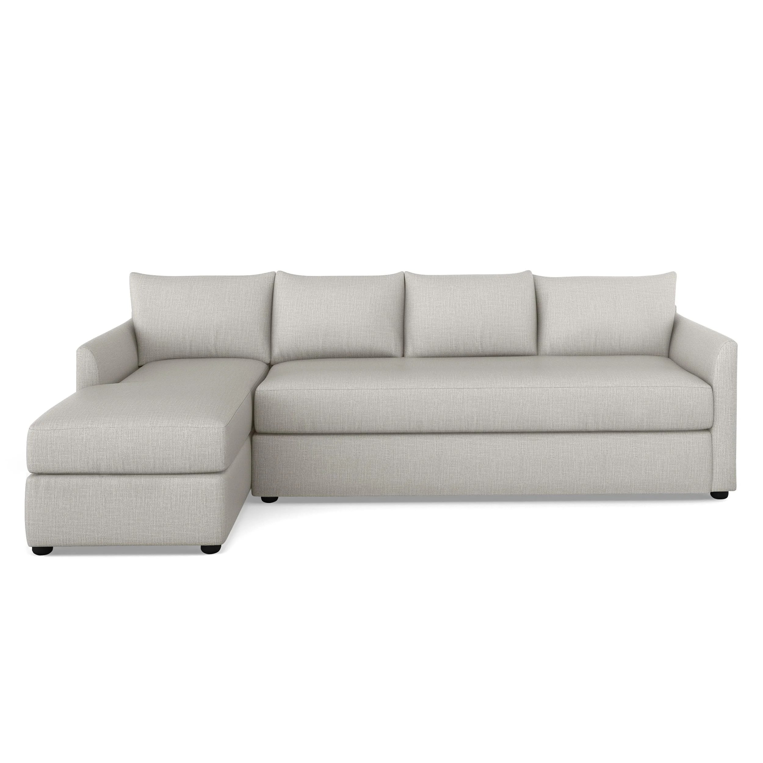 left facing sectional sofas joss main