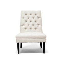 Modern Slipper Chair Aluminum Webbing Colegrove Joss Main
