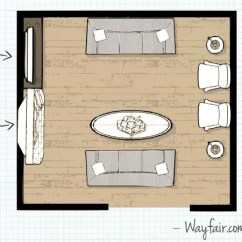 Design Living Room Layout With Sectional And Fireplace Layouts Wayfair This Is Ideal For A Large Or One That Requires Lots Of Seating Since It Features Two Sofas The Face Each Other Coffee Table In