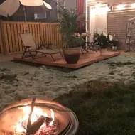 composite patio deck tile starter kit