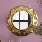 Wrought Studio Distressed Accent Mirror Reviews Wayfair
