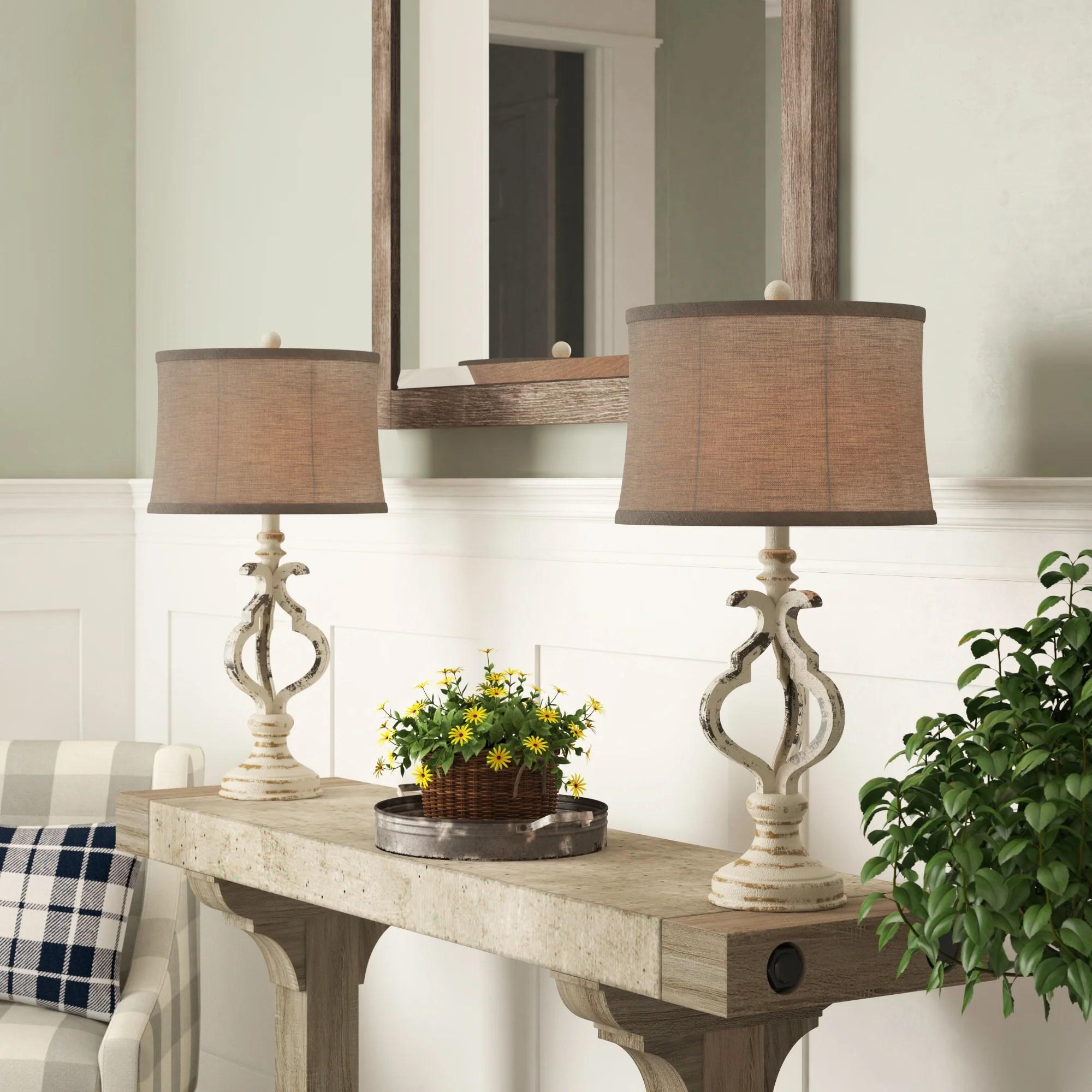 farmhouse table lamps free shipping