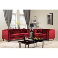 Red Living Room Set Diy Storage Sets You Ll Love Wayfair Quickview