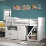 Harriet Bee Mitch Twin Loft Bed With Drawers And Shelves Reviews Wayfair