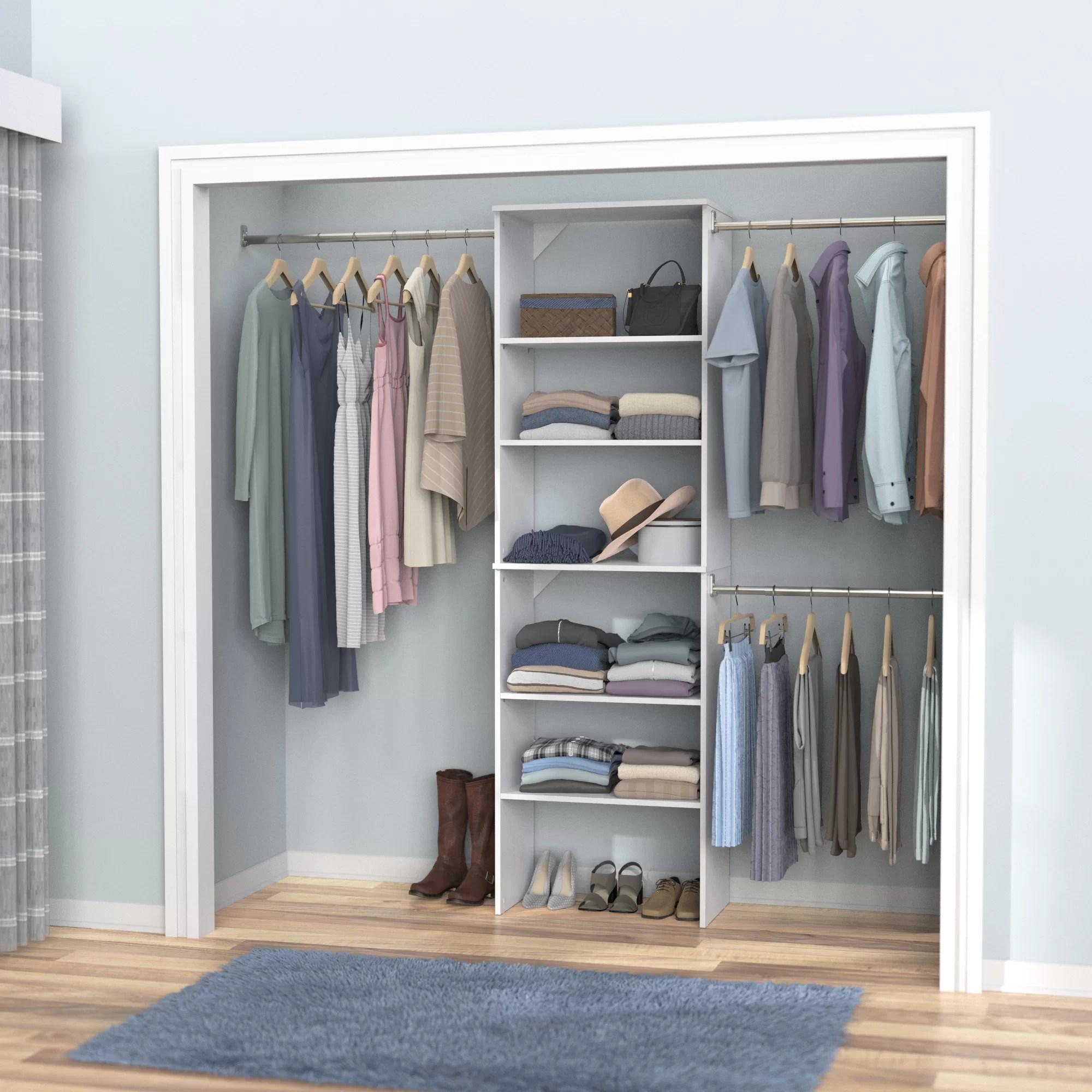 Walk In Closet Systems You Ll Love In 2020 Wayfair