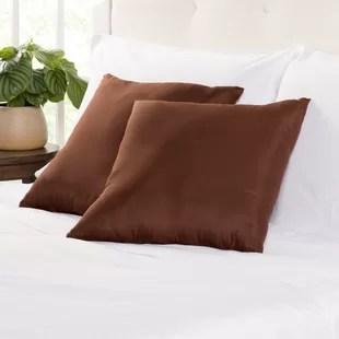 dark brown throw pillows