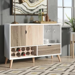 kitchen buffet supplies sideboards tables you ll love wayfair ca rogerson contemporary server