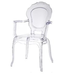 Lucite Acrylic Chairs White Lounge Chair Cushions Dining Wayfair Torrington Clear
