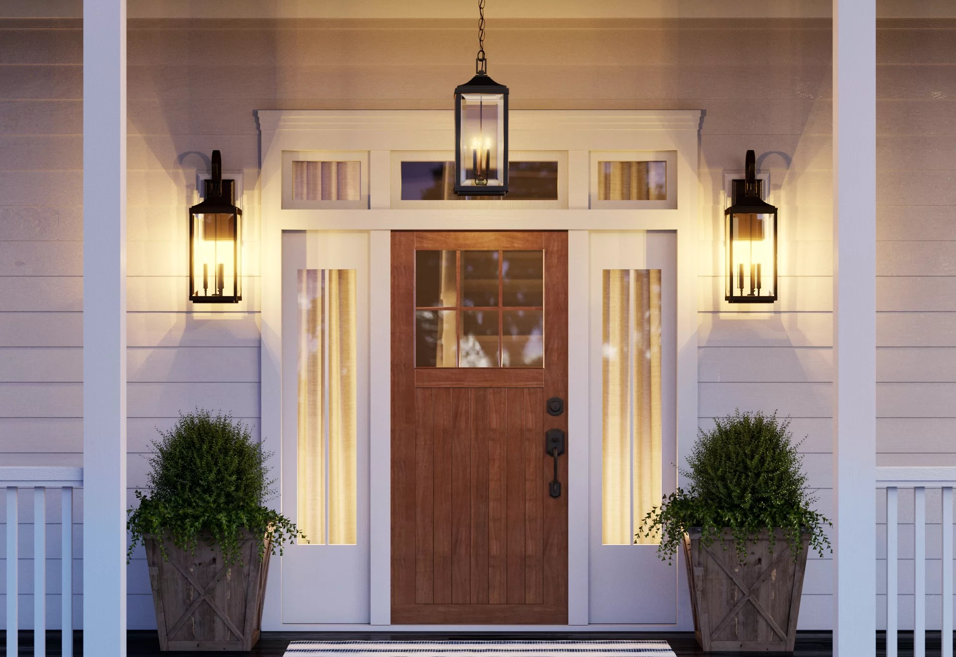 Outdoor Wall Lights Sconces Wayfair