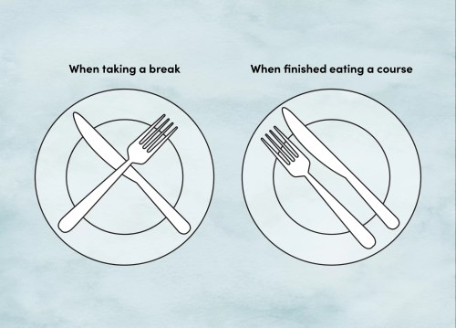 small resolution of how to place utensils