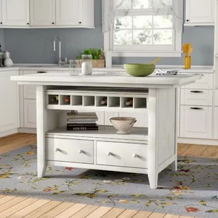Sit At Kitchen Islands Wayfair