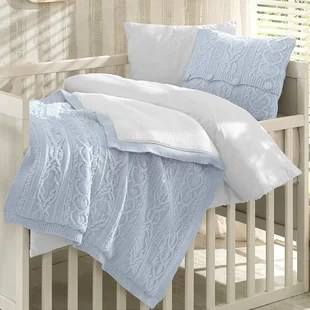 creedmoor 6 piece crib bedding set