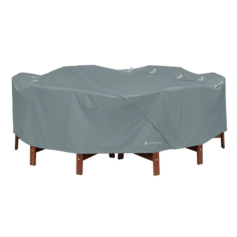 rene water resistant patio table cover