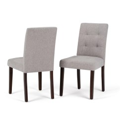 Affordable Upholstered Dining Chairs Back Support Recliner Chair Simpli Home Andover Wayfair