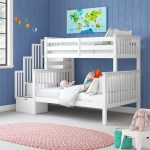 Harriet Bee Tena Twin Over Full Bunk Bed With Drawers Reviews Wayfair
