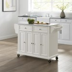 August Grove Baisden Kitchen Cart With Granite Top Reviews