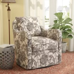 Barrel Swivel Chairs Upholstered Wedding Chair Covers Rental Near Me You Ll Love Wayfair Quickview