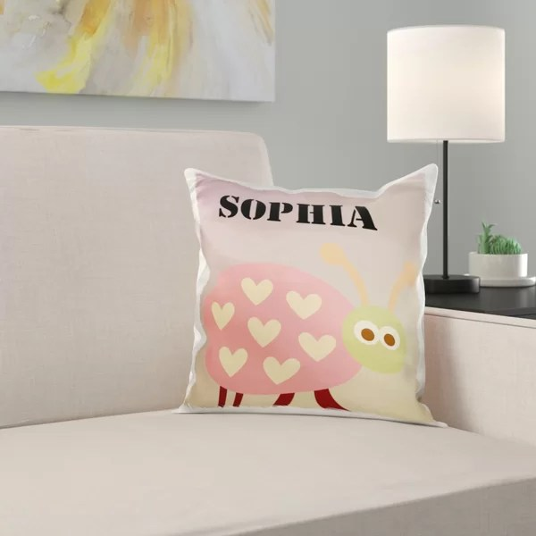 personalized pillows for kids online