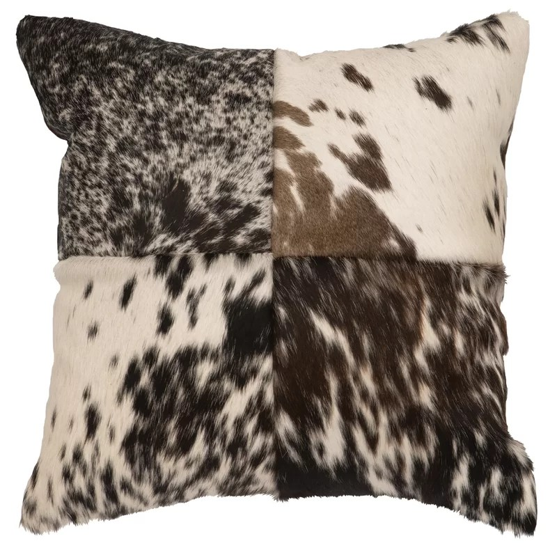 strathairn leather throw pillow
