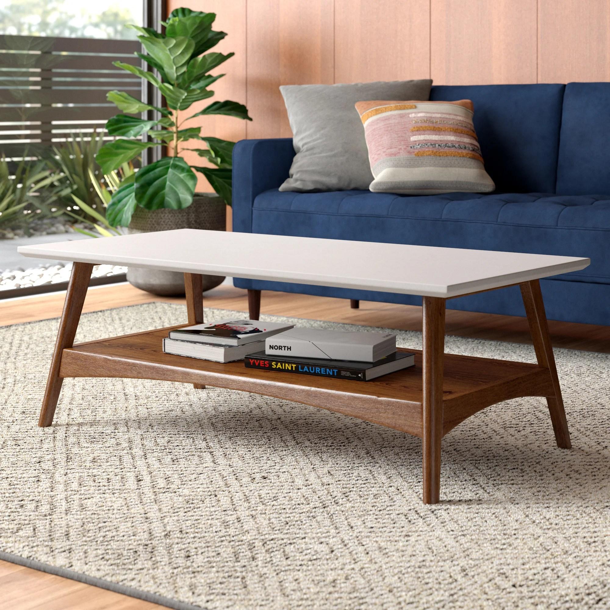 modern mid century coffee tables