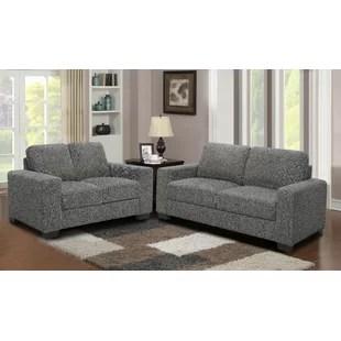 microfiber living room furniture mango wood sets you ll love wayfair palmilla 2 piece set