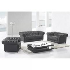 3 Piece Black Leather Living Room Set Round Rug Canora Grey Peggie Wayfair Ca