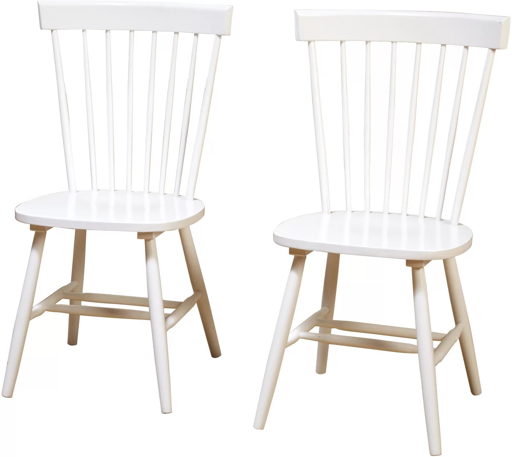 White Wooden Dining Chairs Royal Palm Beach Solid Wood Dining Chair