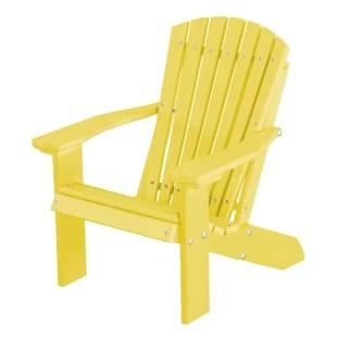yellow adirondack chairs plastic white slipper chair you ll love wayfair quickview