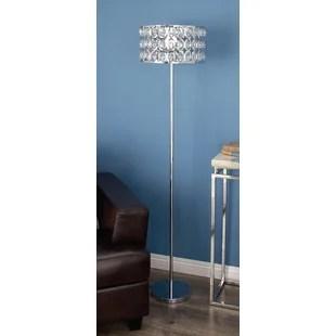Metal Glass 62 Floor Lamp