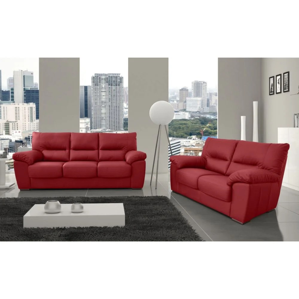 Couchgarnituren Reinigen Brayden Studio 2-tlg. Couchgarnitur Marroquin Aus Echtleder | Wayfair.de