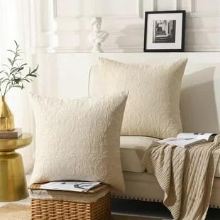 dendron square pillow cover