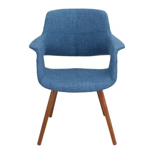 wood office chair metal arm chairs modern allmodern quickview