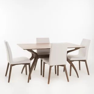 modern living room table black rugs contemporary dining sets allmodern quickview