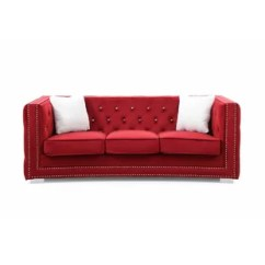Glam Sofa Set Orange Brown Sofas You Ll Love Wayfair Quickview